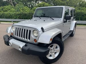 JEEP WRANGLER SAHARA UNLIMITED ! WE FINANCE !! for Sale in Tampa, FL