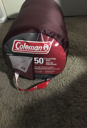 Coleman sleeping bag for Sale in Fontana, CA