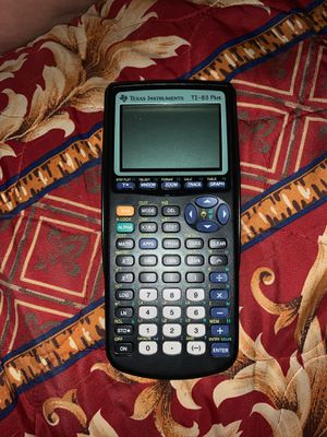 Texas instrument 83 plus calculator for Sale in Los Angeles, CA