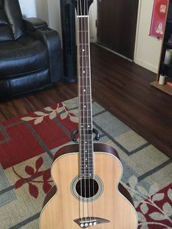 Dean Playmate Acoustic bass W/ Soft Case for Sale in Fresno,  CA
