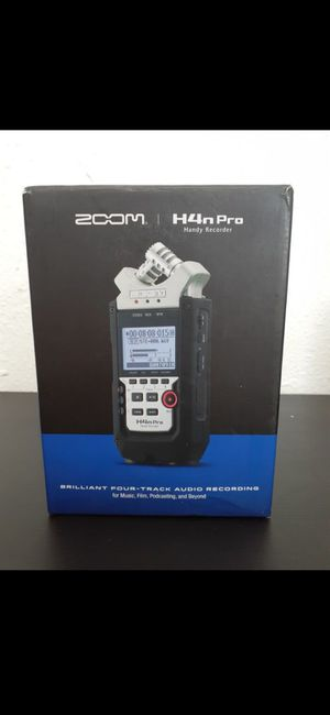 Zoom H4n Pro for Sale in Los Angeles, CA