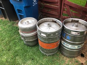 3 Beet kegs for Sale in Durham, NC