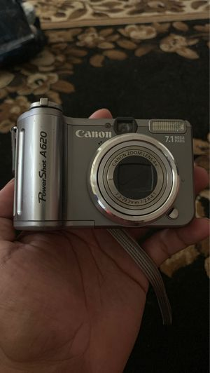 Canon PowerShot A620 7.1 MP Compact Digital Camera for Sale in Lemoore, CA