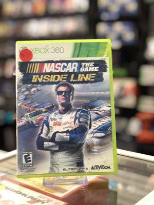 NASCAR - Inside the Line for the Xbox 360 for Sale in San Bernardino, CA