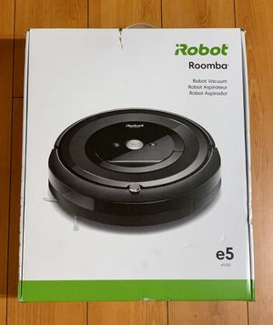 iRobot Roomba e5 Wi-Fi Connected Robot Vacuum Cleaner e515020 for Sale in Garden Grove, CA