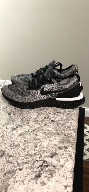 Nike Epic React Flyknit Cookies and Cream for Sale in Morehead, KY