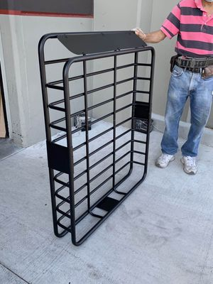 New in box 250 lbs capacity 47x40x7 inches roof basket travel cargo carrier storage rack for suv car 4 mounting brackets included for Sale in Covina, CA