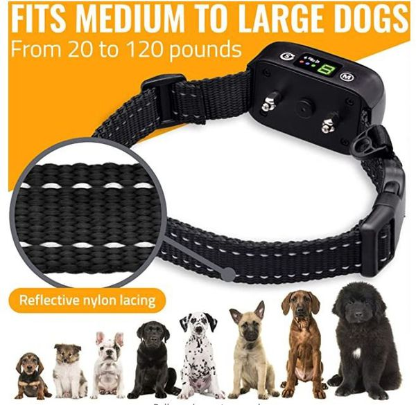 NEW! Safe Anti Bark Collar For Your Best Friend! Helps Train Your Dog!