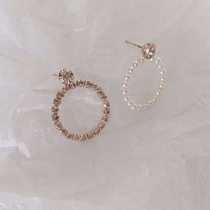 Diamond Pearl Earrings for Sale in Anaheim, CA