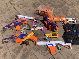 Lot of nerf guns for Sale in Cudahy, CA