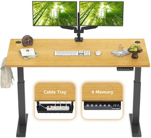 FEZIBO Height Adjustable Electric Standing Desk for Sale in Las Vegas, NV