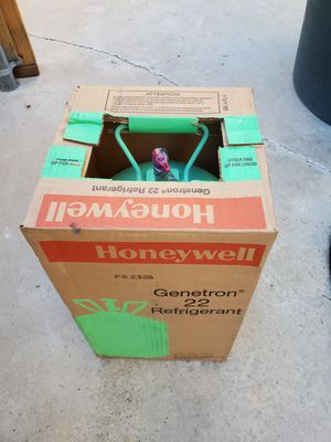 R22 freon brand new sealed 30lb for Sale in Chino Hills, CA