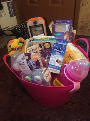 Baby Girl Basket for Sale in Covington, KY