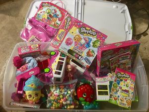 A huge lot of Shopkins - some brand new for Sale in Rockville, MD