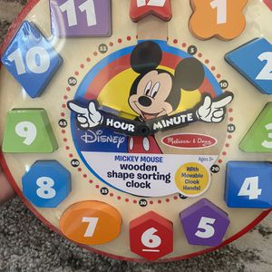 Melissa And Doug Mickey Mouse Clock for Sale in Lyman, SC