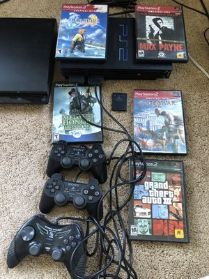 PS2 with games for Sale in Los Angeles, CA