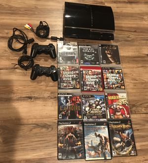 PS3 CECHE01 Playstation 3 Console 80GB Backwards Compatible Bundle for Sale in Livermore, CA