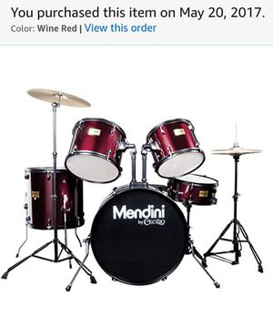 Mendini Drum Set like new for Sale in Portland, OR