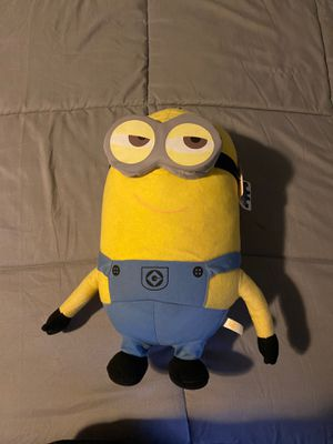 Despicable Me 2 Minions Kevin stuffed animal new 22 inches for Sale in Los Angeles, CA