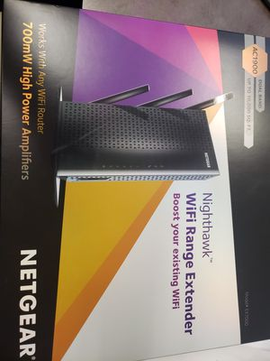 Netgear Nighthawk WiFi Range Extender AC1900 for Sale in San Diego, CA