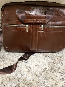 Real Leather Men's Messenger Bag for Sale in Portland,  OR