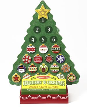 Melissa and Doug Wooden Advent Calendar - New for Sale in Fairfax, VA