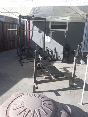 Gym equipment $650 obo taking trades for Sale in Hayward, CA