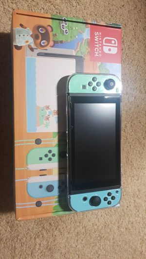 Nintendo switch Animal crossing edition for Sale in Seattle, WA