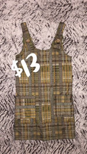 Women's Yellow Plaid Zara Dress Short Adult Holiday Christmas Gifts / (See My Page for Baby Jordans Shoes and Other Discounted Items) for Sale in Los Angeles, CA