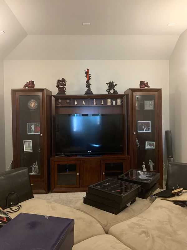 "Pine solid wood Entertainment center ""Furniture"""