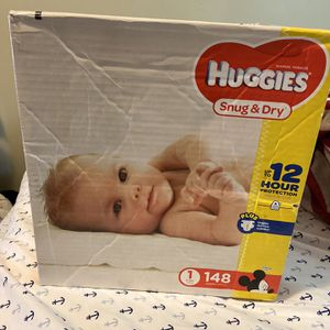 Huggies diapers Size 1 for Sale in Coronado, CA