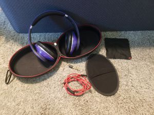 Purple Beats by Dr. Dre Studio Headphones (with wires) for Sale in Long Beach, CA