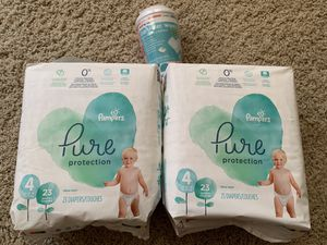 Pampers Diapers & Wipes for Sale in Dallas, TX