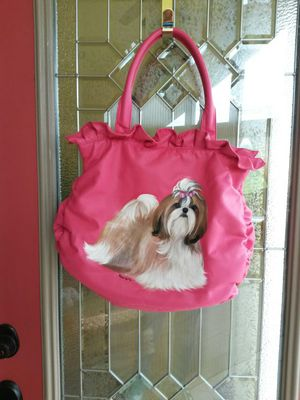 Custom painted Shih-tzu handbag! for Sale in Stockport, OH