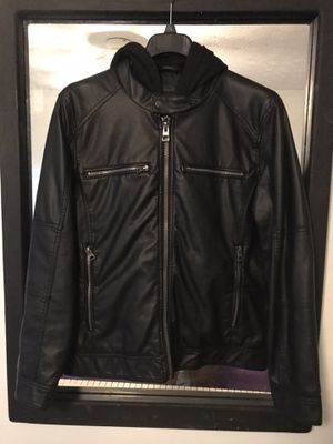 Guess Leather Jacket for Sale in Lawrenceville, GA