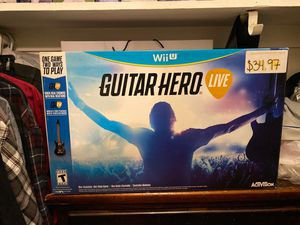 Nintendo Wii U - Guitar Hero Live - Complete for Sale in El Monte, CA