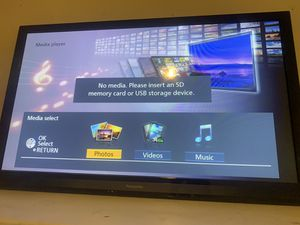 50in Panasonic smart tv for Sale in Baltimore, MD