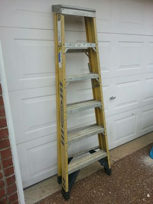 Werner 6' Fiberglass Ladder for Sale in Nashville, TN