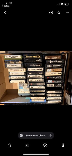 8 track tapes for Sale in West Hartford, CT