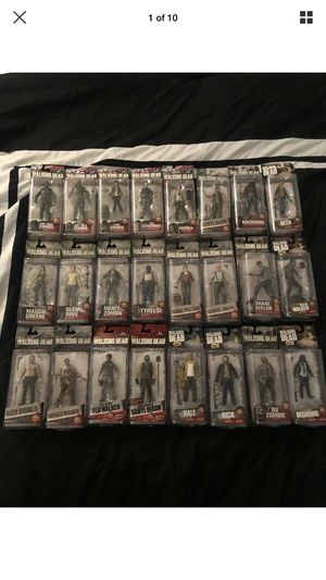McFarlane Toys The Walking Dead Figures Lot Of 24. Series 4,5,6,7,8,9&Flashback for Sale in Scottsdale, AZ