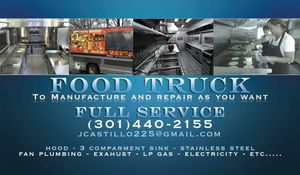 Food truck. Lonch truck Fabricacion Reparacion y venta de partes for Sale in Hyattsville, MD
