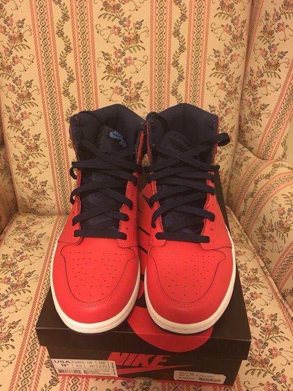"Jordan 1 ""Letterman's"" size 9.5"