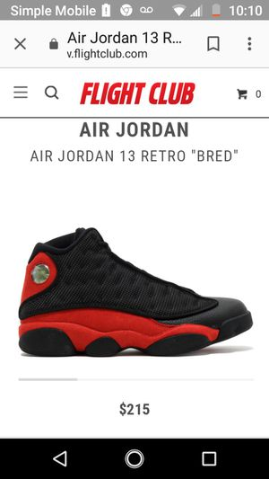 """Retro 13 """"Bred"""" for Sale in Columbus, OH"""