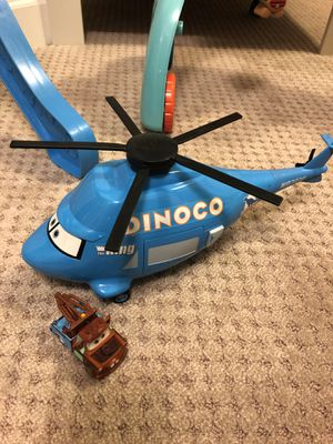 Dinoco Helicopter with Mater for Sale in Frederick, MD