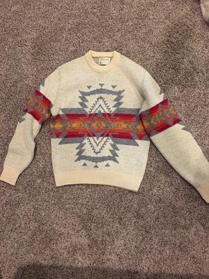 Vintage 1980s Pendleton Western Wear wool sweater Aztec for Sale in Fife, WA