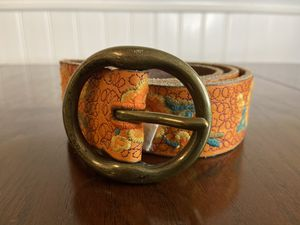 Lucky Brand Embroidered Leather Belt S for Sale in Lawrenceville, GA