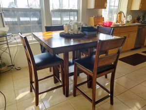 Oak Kitchen Table with Chairs set for Sale in Virginia Beach, VA
