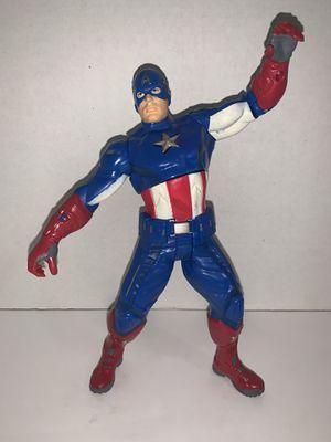 "Captain America 10"" figure for Sale in Houston, TX"