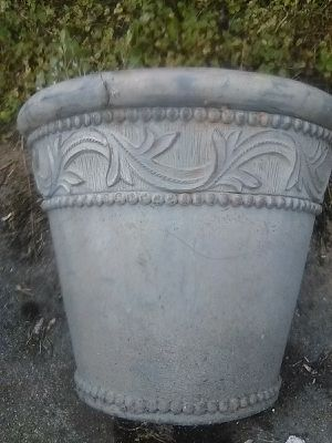 Large Decorative Fiberglass Outdoor Planting Pot for Sale in Washington, DC