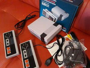 Mini Nintendo Style Video Console 600 Classic Games Super Mario Donkey Kong Contra Pacman Galaga and More Brand New Plug and Play for Sale in Snellville, GA